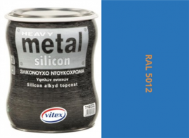 Vitex Heavy Metal Silikon - alkyd RAL 5012 750ml